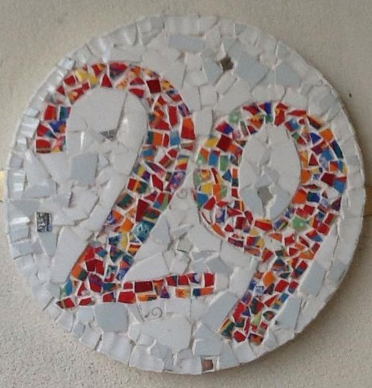 27 ideias de número de casa para se inspirar e decorar