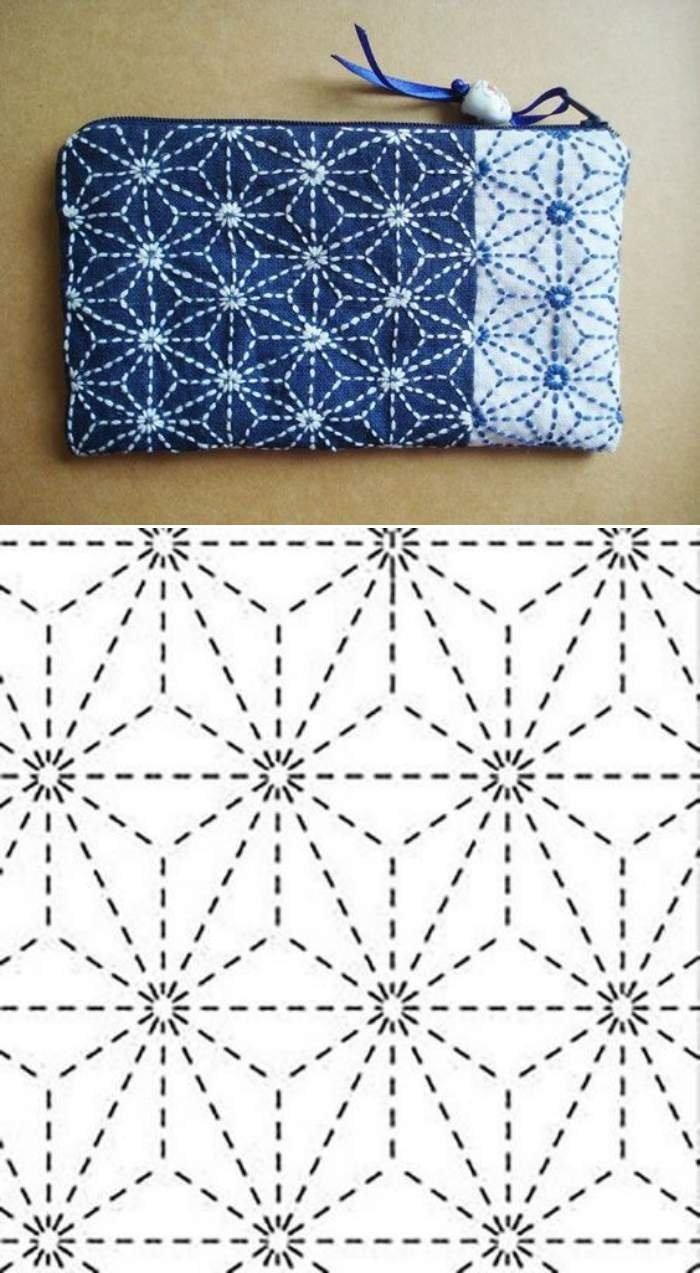 Bordado sashiko : técnica milenar da costura japonesa