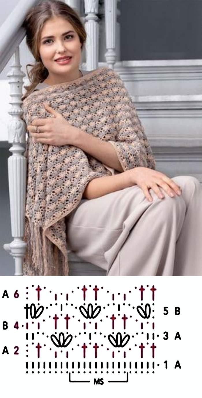 19 modelos de xales delicados e elegantes para compor o seu look