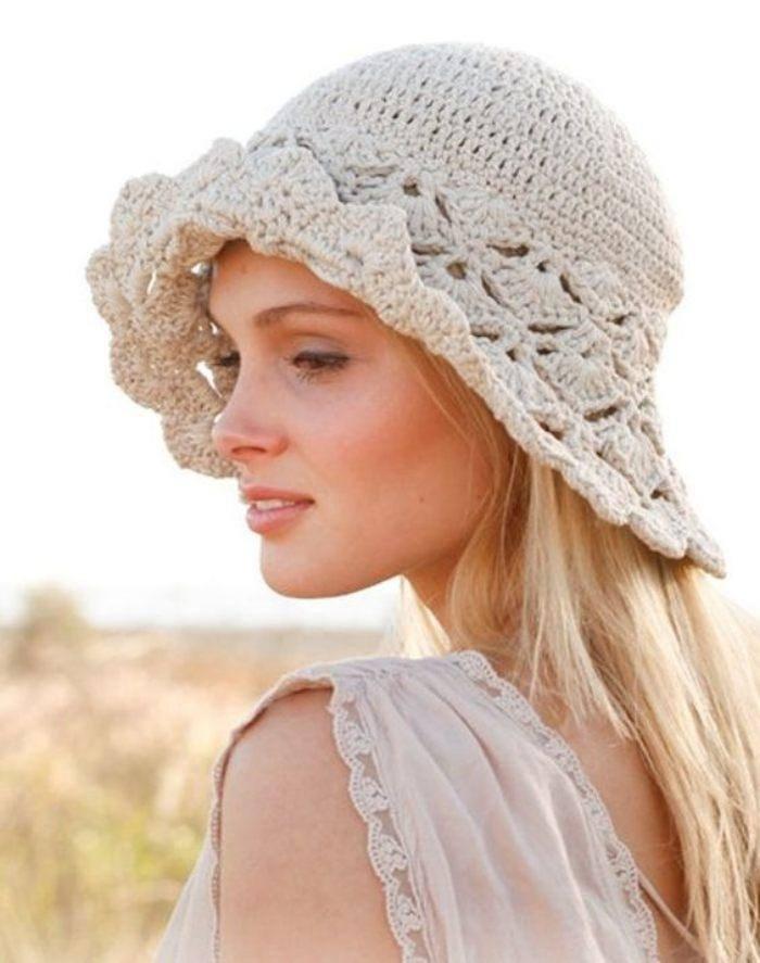 23 Modelos de chapéu de crochê para copiar