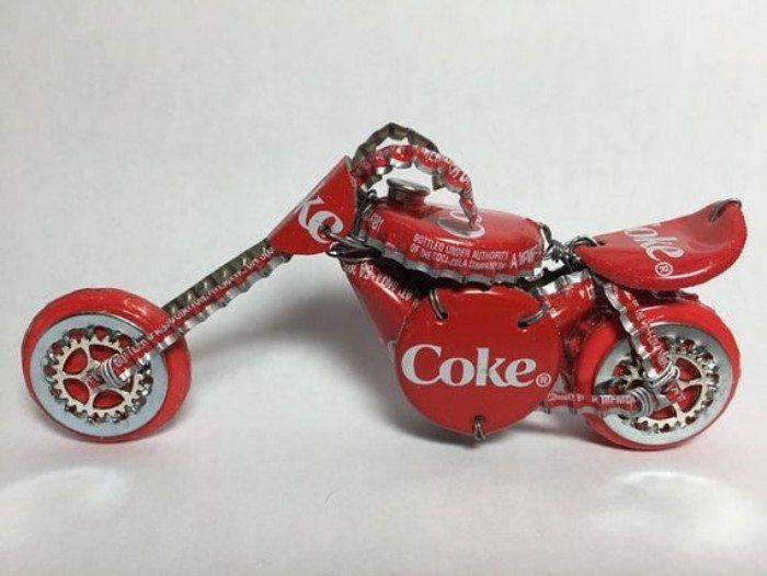 Ideias divertidas para reciclar latas de alumínio
