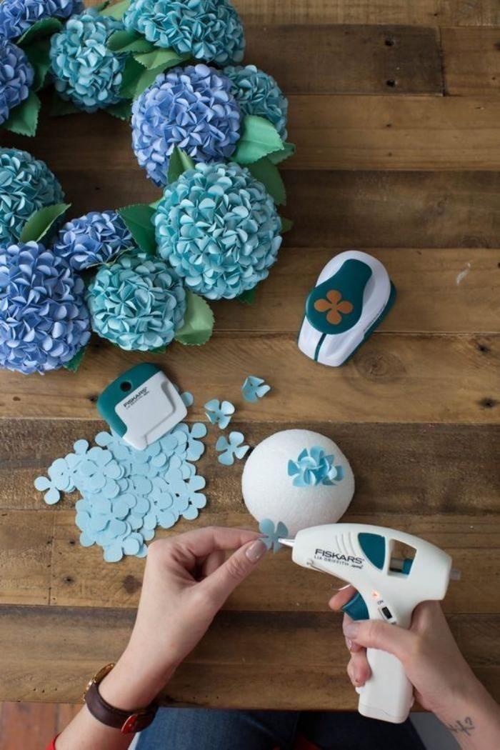 Ideias e modelos de flores de papel gigante - passo a passo