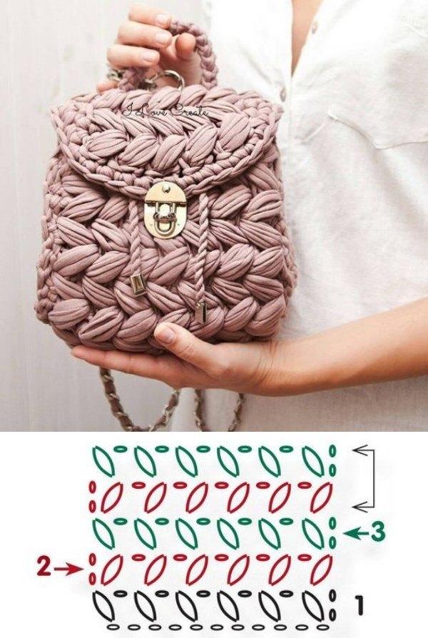Faça e Lucre: 11 modelos de bolsa pequena de fio de malha
