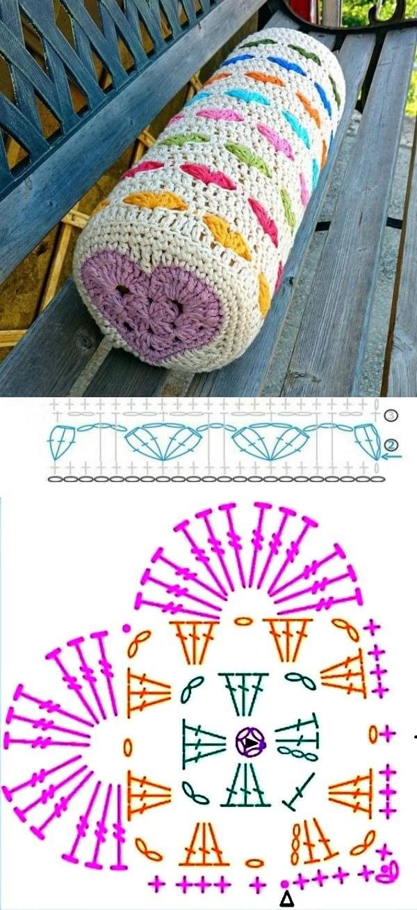 Casa bonita: 14 almofadas de crochê para copiar