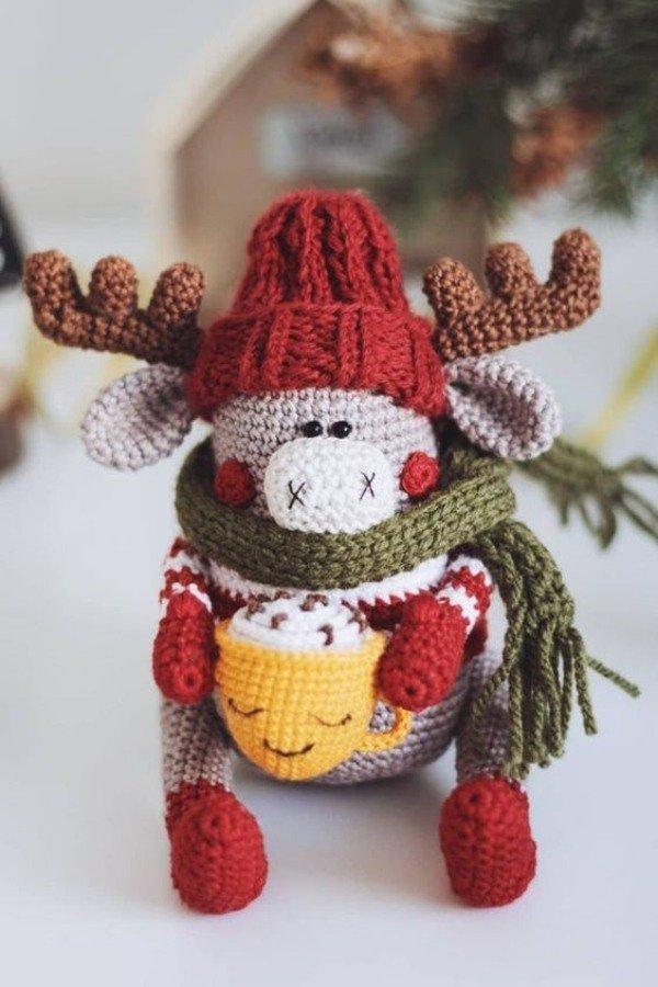 Preparando o Natal: Amigurumis de Natal