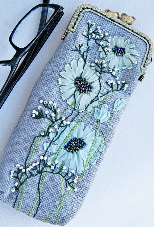 20 Ideias de bordado com fitas