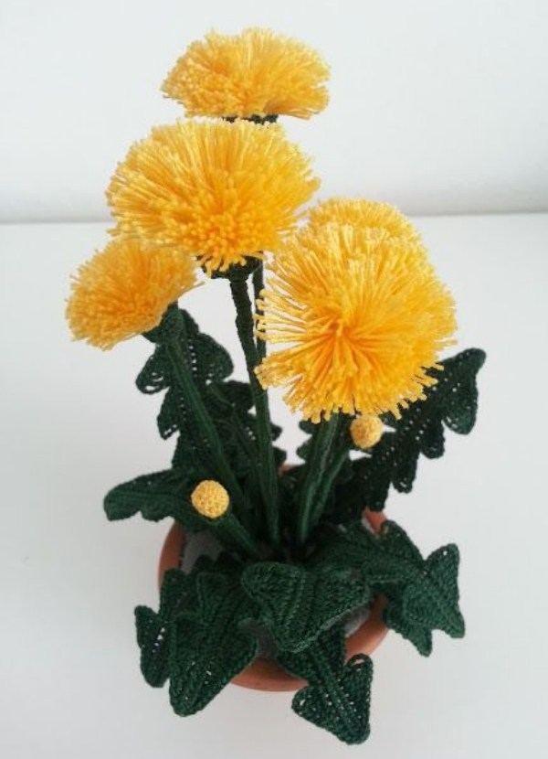 Crochê criativo - Flores de crochê que encantam