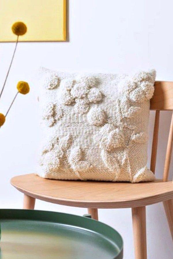 17 lindas ideias de almofadas com ponto russo