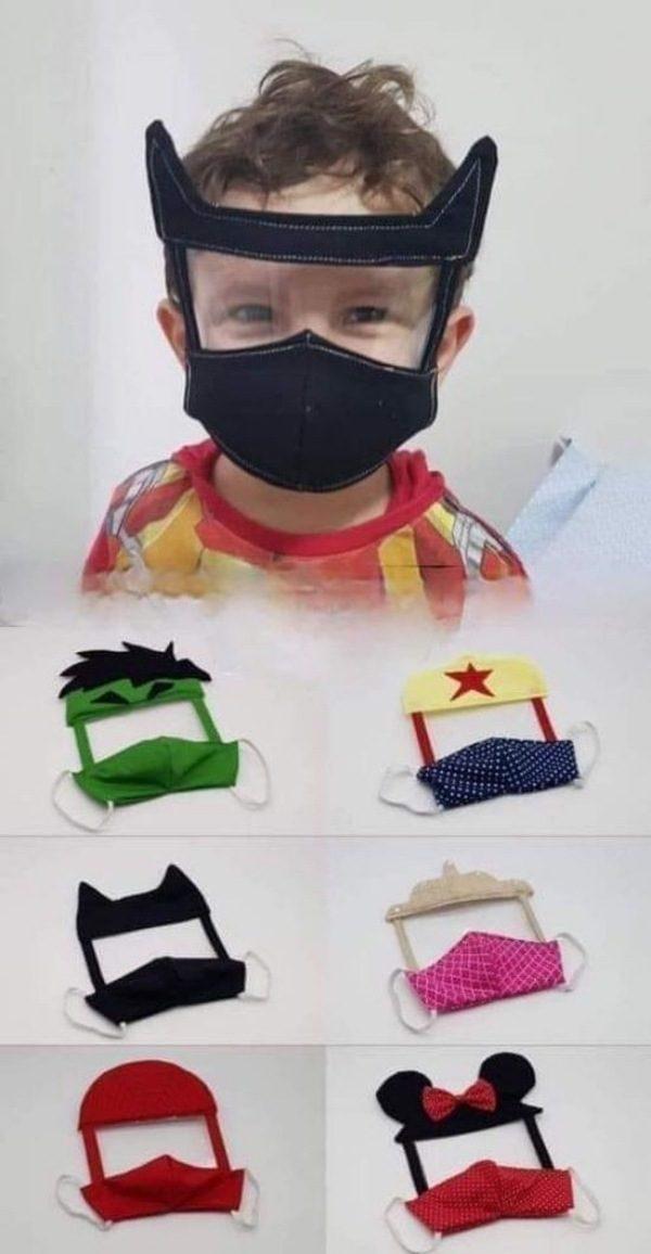 23 ideias e modelos de máscaras de proteção facial