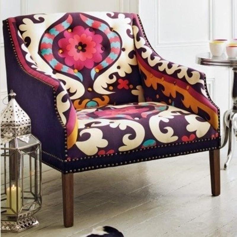 decoração - sofá - cor 2018 pantone - ultravioleta - ultra violet