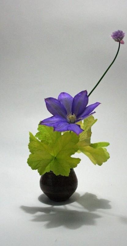 decoração ultravioleta - ikebana