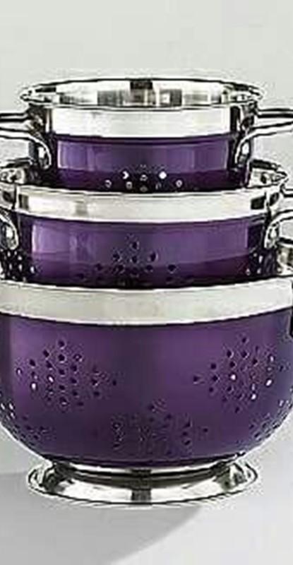 decorar com a cor ultravioleta - acessórios de cozinha