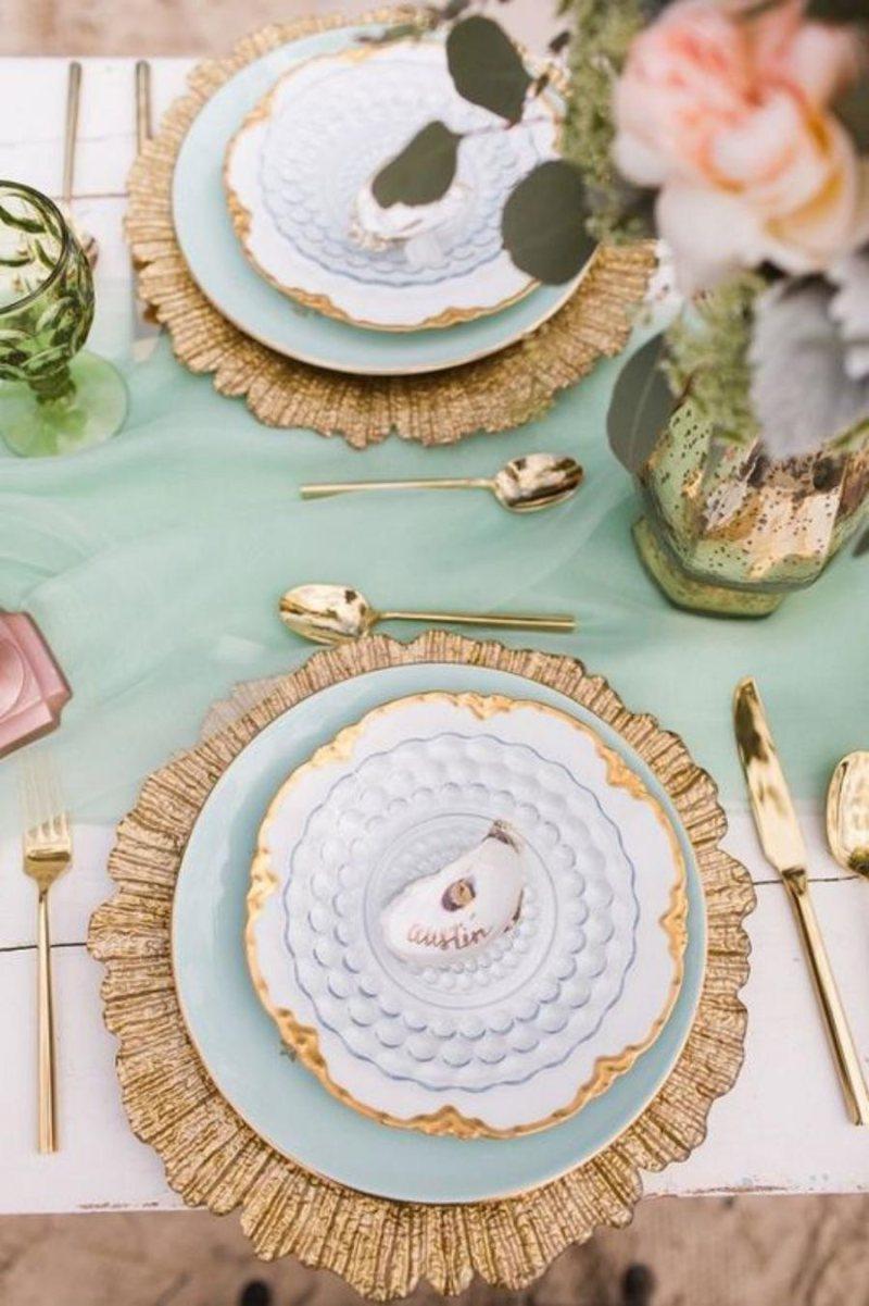 +15 ideias de decoração de mesa para bodas de ouro