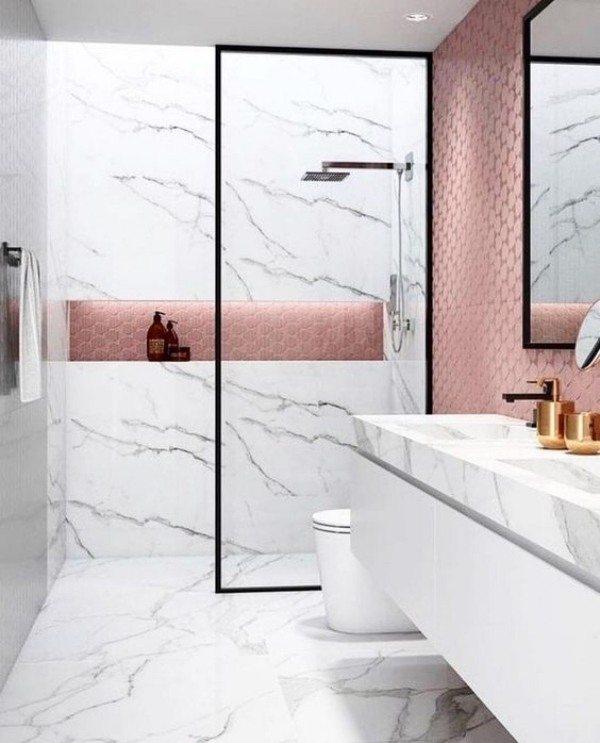 Casa Bonita: 16 ideias modernas de nicho de banheiro