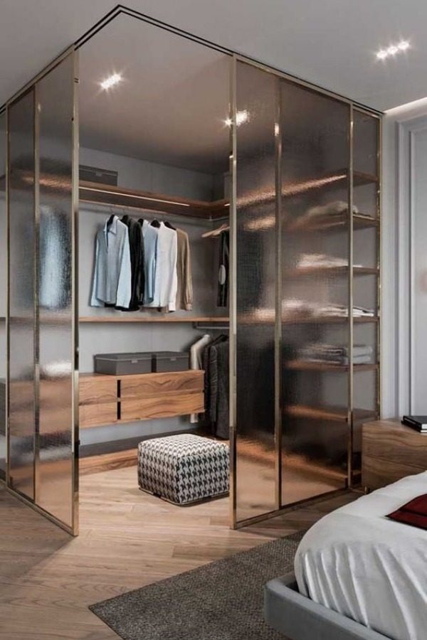 Closet pequeno no quarto - 15 ideias para inspirar!
