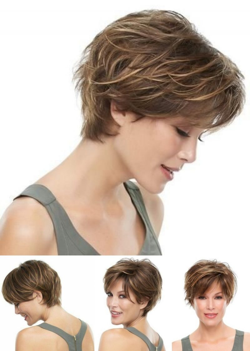 +12 cortes de cabelo curto repicado para senhoras, escolha o seu!