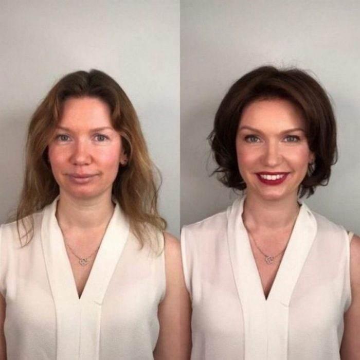 Bem na foto: 17 cortes de cabelos antes e depois