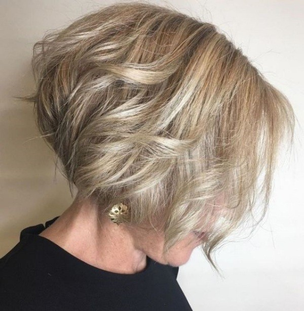 Melhores cortes de cabelos para mulheres de 60 anos ou mais(parte 2)
