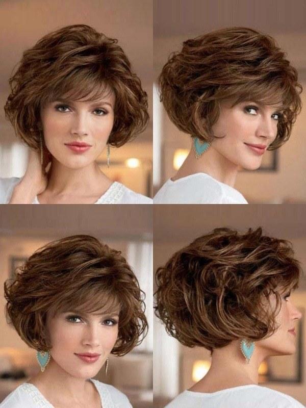 Bem na Foto: 17 Cortes para cabelo curto ondulado
