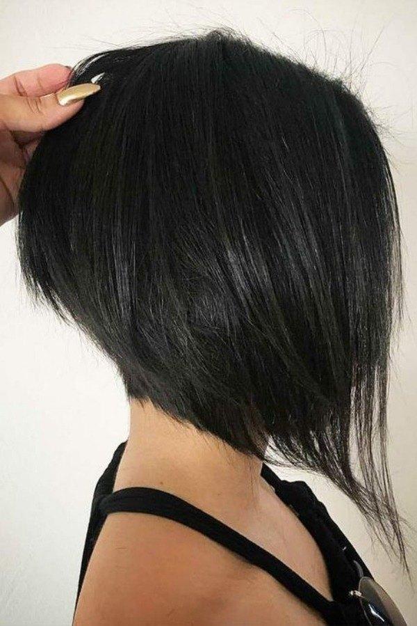 Ideias de cortes de cabelo reto long bob