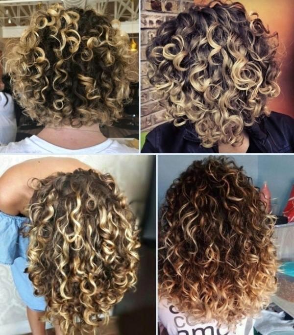 56 ideias para uma nova cor de cabelo cacheado loiro
