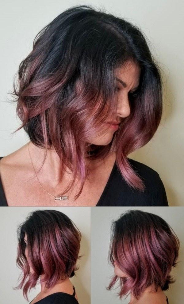 37 tons de cor de cabelo ruivo, laranja ou rosé, lisos