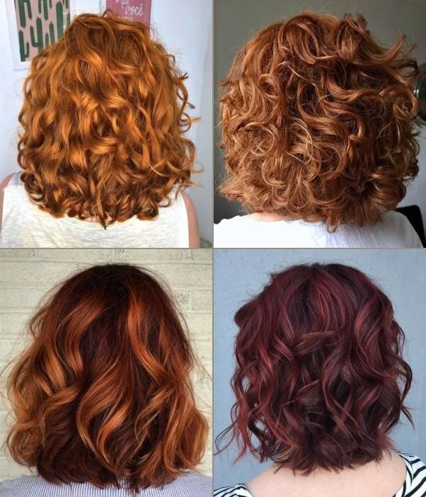 Bem na foto: 38 tons de cabelos vermelhos ou ruivos cacheados