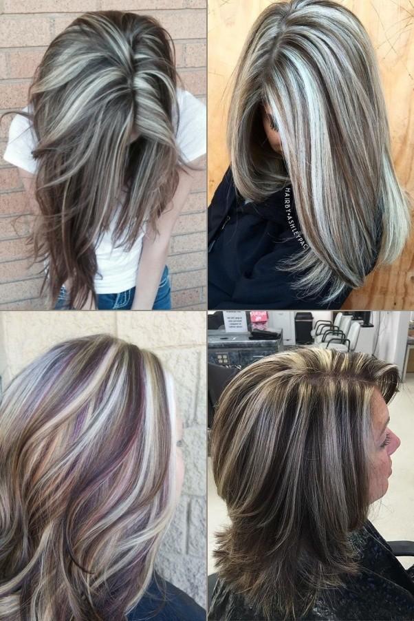 Bem na foto: 54 Inspirações para cabelos com tons prateados lisos