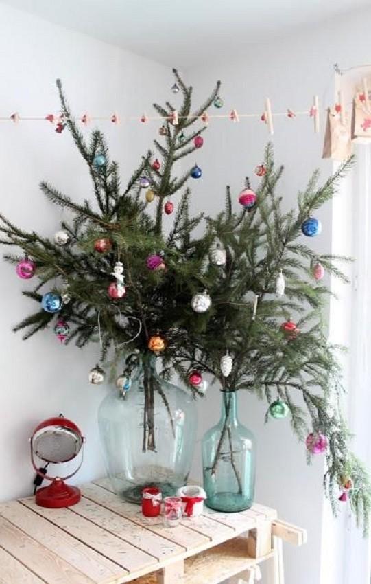 Árvore de natal de mesa para pequenos espaços - christmas tree
