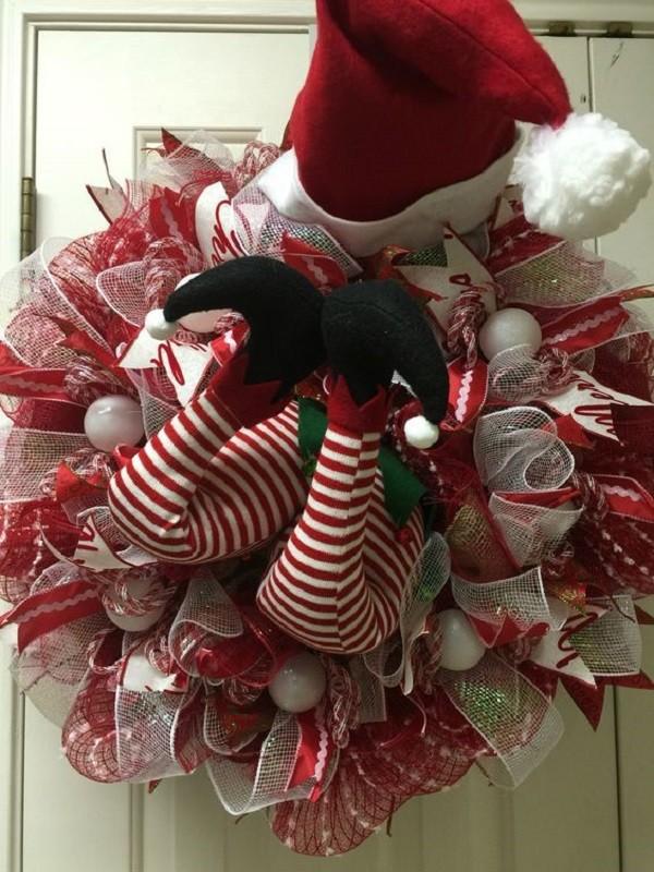18 ideias para enfeitar - Guirlanda de Natal Criativa- Christmas wreaths