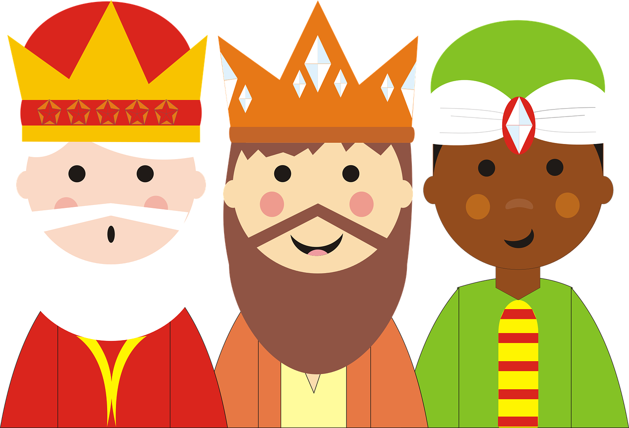 3 reis magos-epifania - a Lenda da Befana