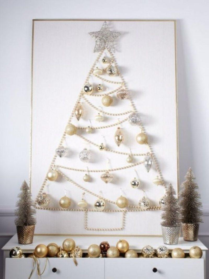 +19 ideias de árvore de Natal super criativas para se inspirar