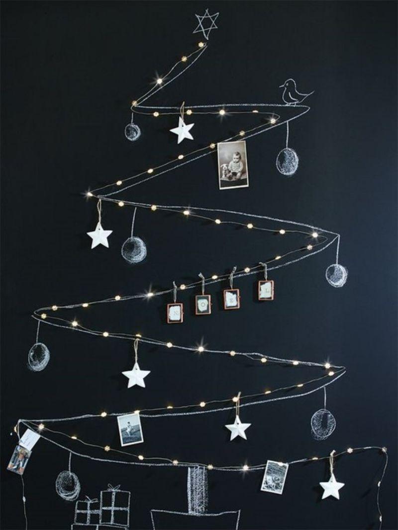 +19 ideias de árvore de Natal super criativas e modernas  para se inspirar