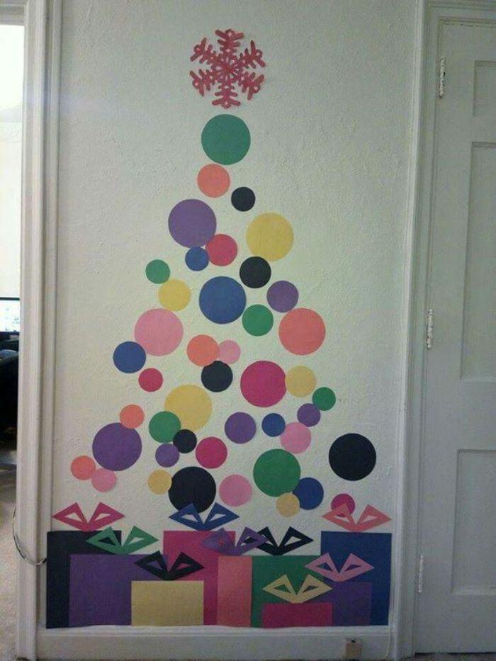 Preparando o Natal: +26 ideias de árvore de Natal criativa e moderna