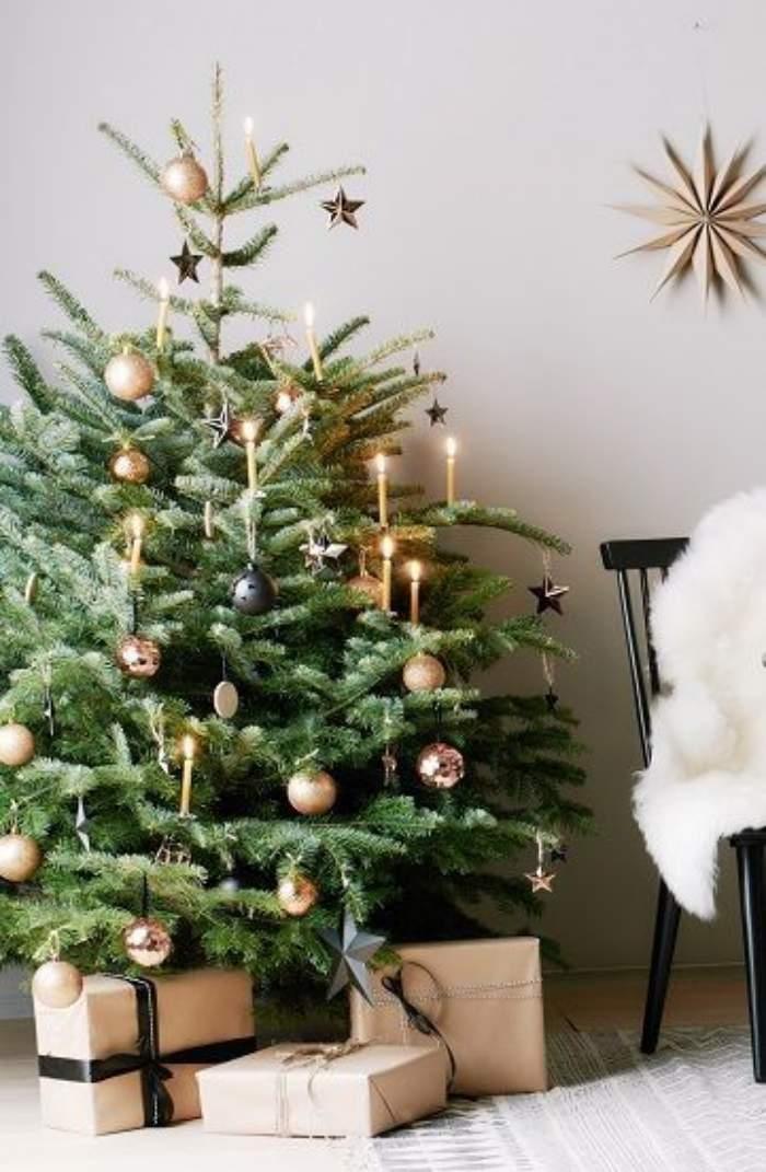 Preparando o Natal : 19 ideias de árvore de Natal tradicional