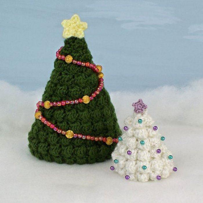 Preparando o Natal: 27 ideias de árvore de Natal de mesa