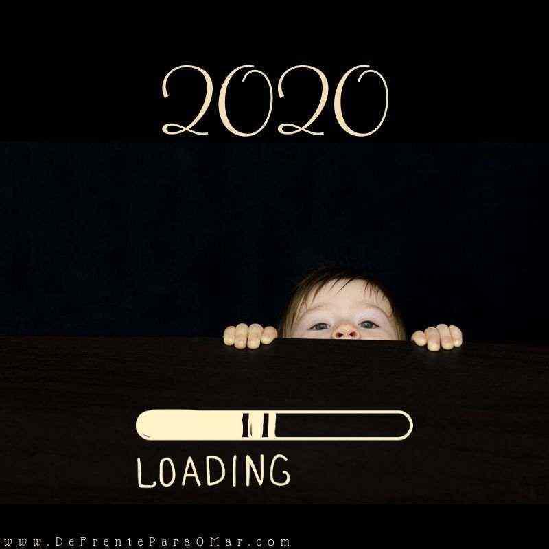 Feliz Ano Novo Feliz 2020 ! - Mensagem Loading