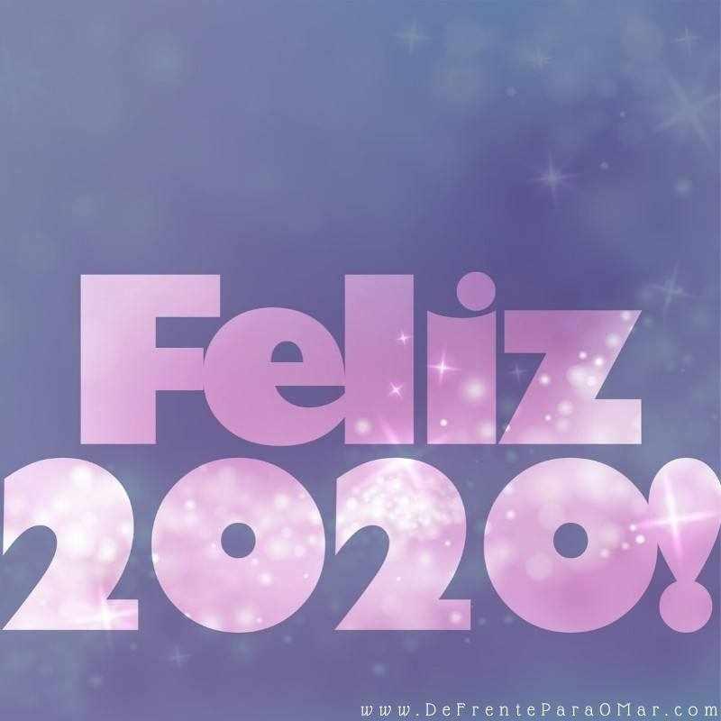 Feliz Ano Novo Feliz 2020 ! - Mensagem