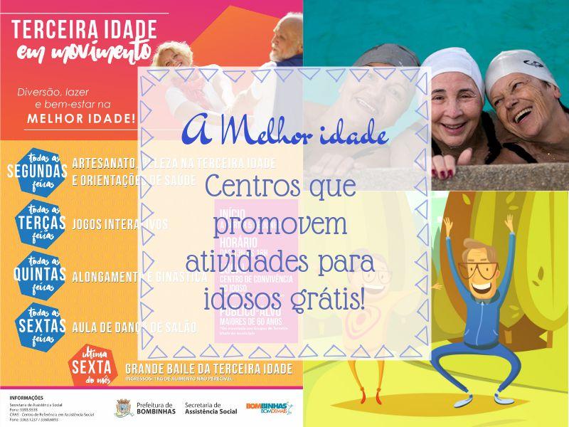 Qualidade de vida na terceira idade: Centros que promovem atividades grátis