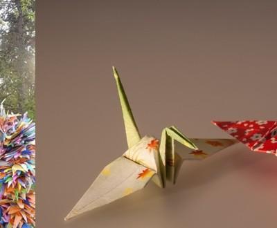 Origami de tsuru - lenda dos mil tsurus