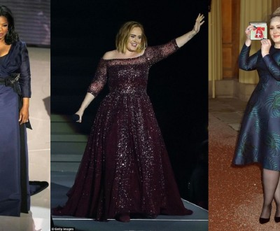 famosas plus size : Adele e Oprah Winfrey