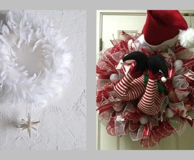 DIY - Enfeite de Natal para portas