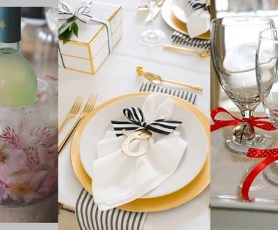 DIY - Como decorar mesa para festas de Natal e Ano Novo