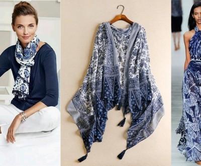 moda anti-idade: combinação perfeita, o azul e branco