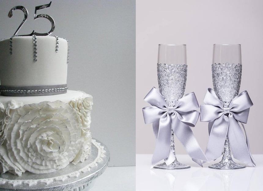 bodas de prata - aniversário de 25 anos de casamento