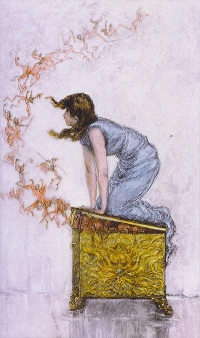 mitologia - caixa de Pandora