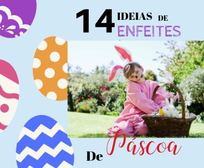 DIY - 14 Ideias de enfeites de Páscoa