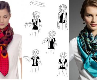 moda anti-idade - como usar lenços
