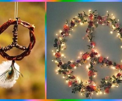 Decoração paz e amor - DIY