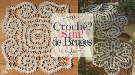 As lindas toalhas de crochê de Bruges